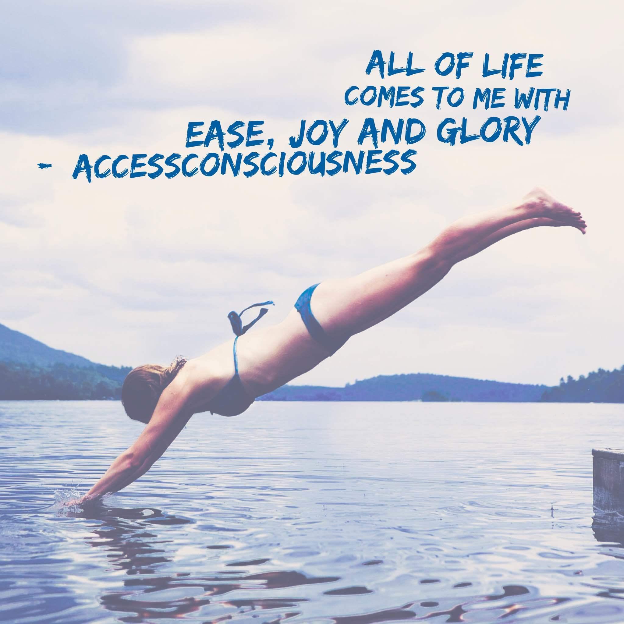 Ease joy and glory