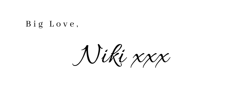 Niki Duffy signature