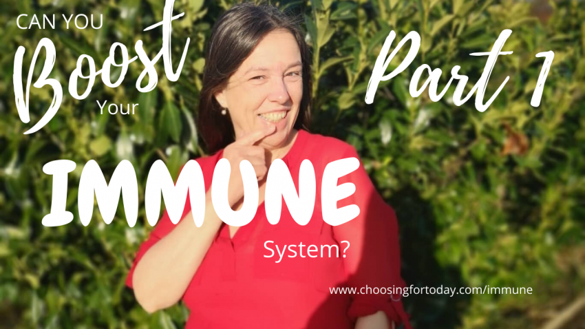 Boost your immune system and learn to trust you